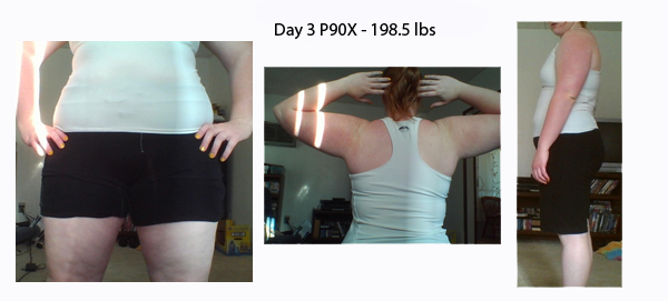 P90X Challenge: May 16, Day 3 - 198.5 lbs