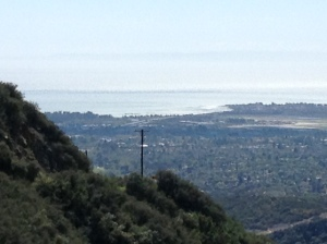 Just one of the gorgeous views in Santa Barbara.